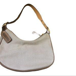 Coach mini hobo purse 10x5